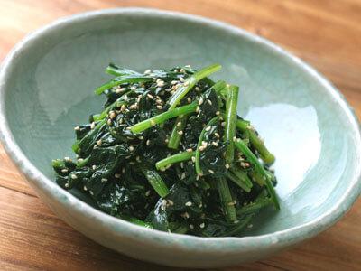 ナムル ほうれん草 お弁当に♪ほうれんそうのナムル レシピ・作り方